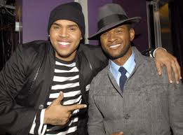 ChrisBrown Usher