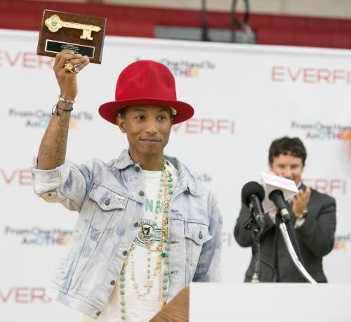 EverFi Pharrell Williams Virginia Beach Key to the City