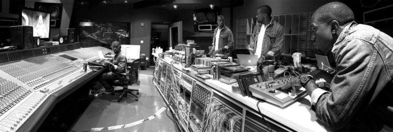 kanye studio