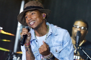 "Pharrell Williams Perform On NBC's ""Today"""