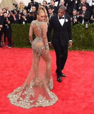 Jay Z & Beyonce US - ENTERTAINMENT-METROPOLITAN MUSEUM