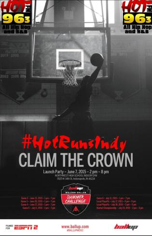 Ball Up Claim the Crown Launch Party 2015
