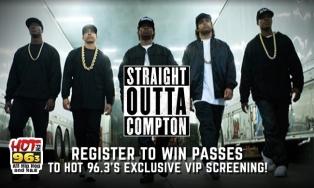 Register to win Straight Outta Compton Passes
