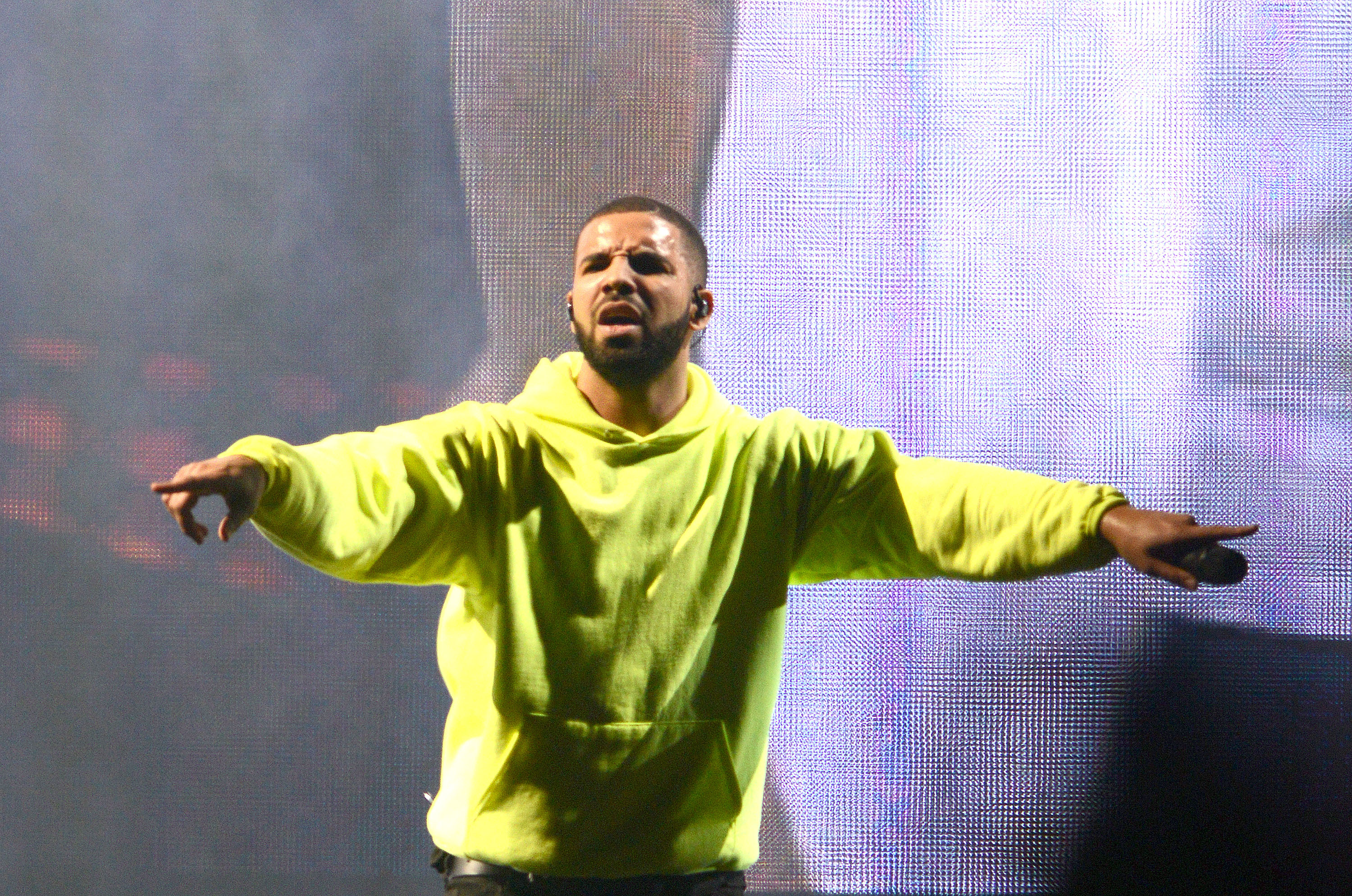 Drake performs during the 2015 Governors Ball Music Festival