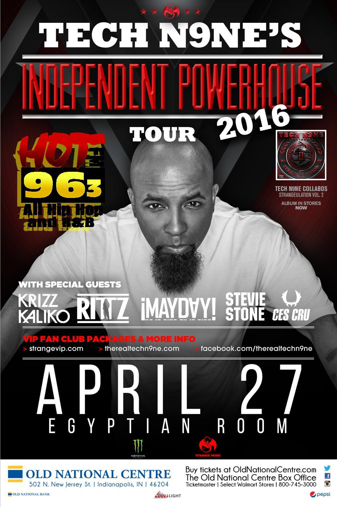 The Independent Powerhouse Tour 2016