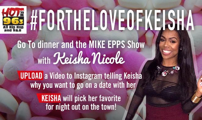 WIN A Date With Keisha Nicole! #ForTheLoveOfKeisha