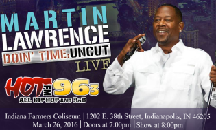 Martin Lawrence at Farmers Coliseum