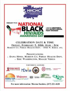 National Black HIV/AIDS Awareness Day 2016 in INDY