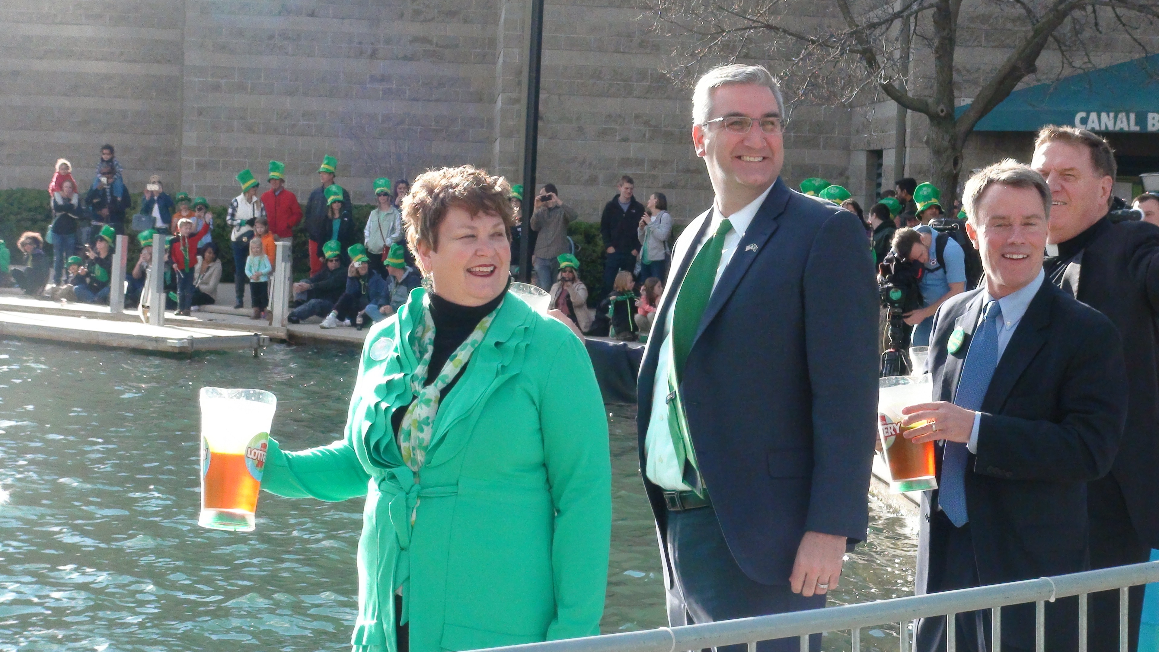 The 2016 Greening of The Canal Indianapolis