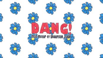 "Mac Millers Cover Art For Song ""Dang"""
