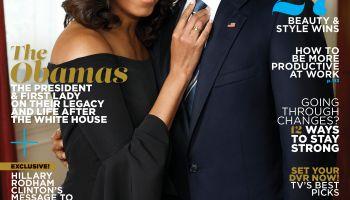 Barack & Michelle Essence Cover