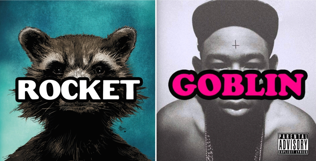 Tyler, The Creator x Rocket Raccoon