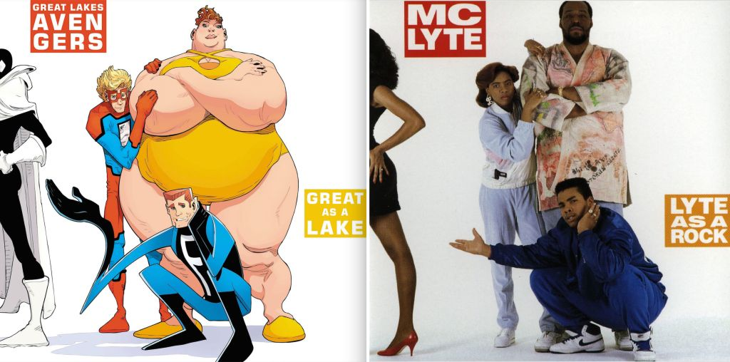 MC Lyte x Great Lakes Avengers