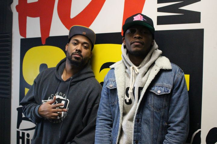 Nick Grant Visits Hot 96.3!