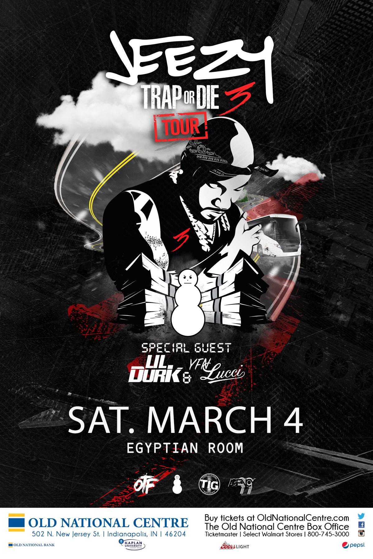 Jeezy Trap or Die 3 Tour