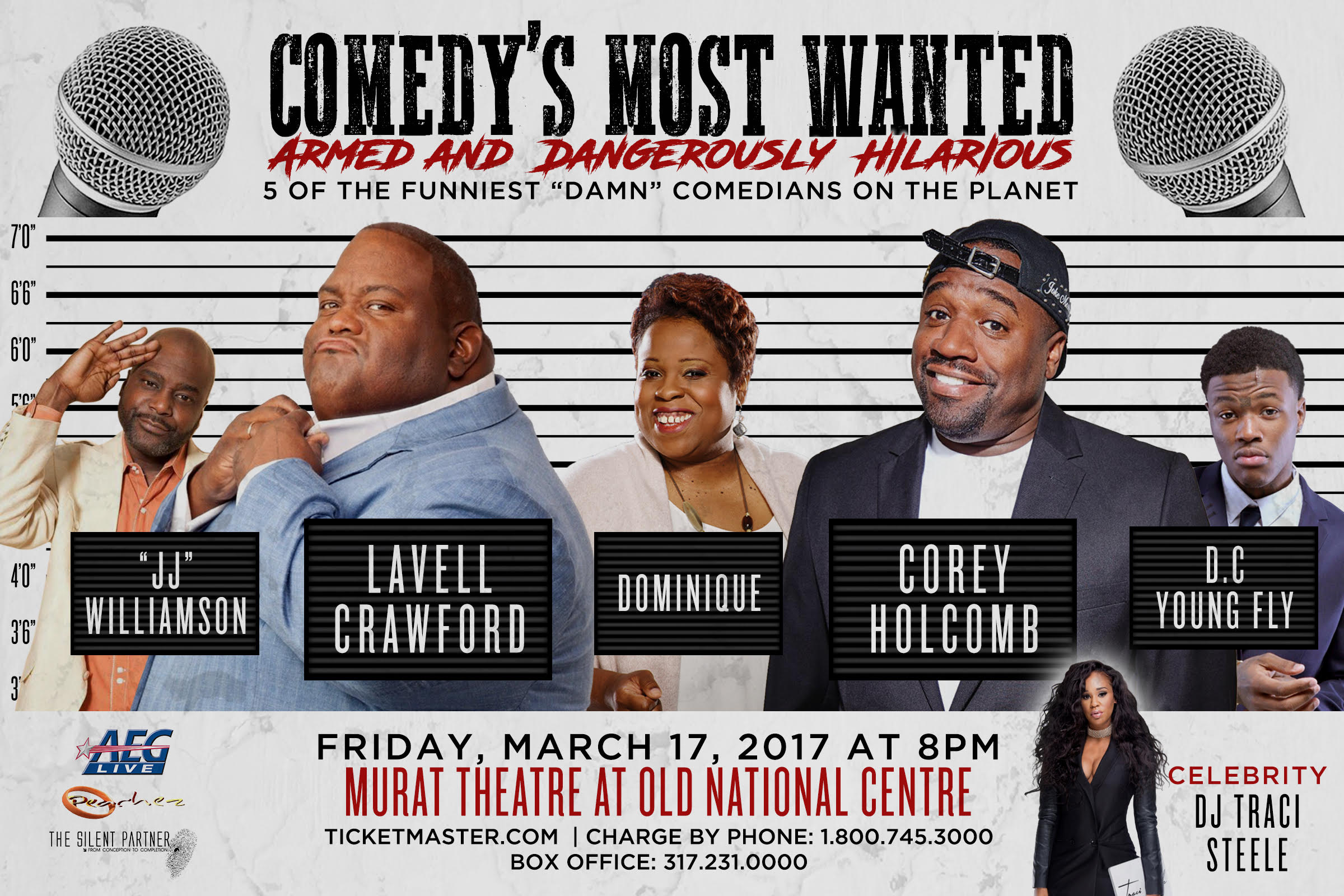 Comedy's Most Wanted Flyer