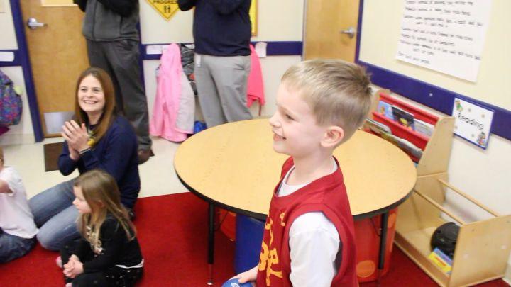 Rakeem Christmas School Visit - Pacers