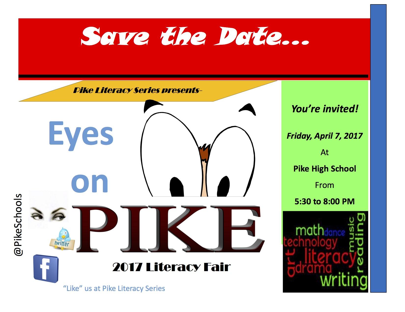 2017 Eyes on Pike: Community Literacy Fair