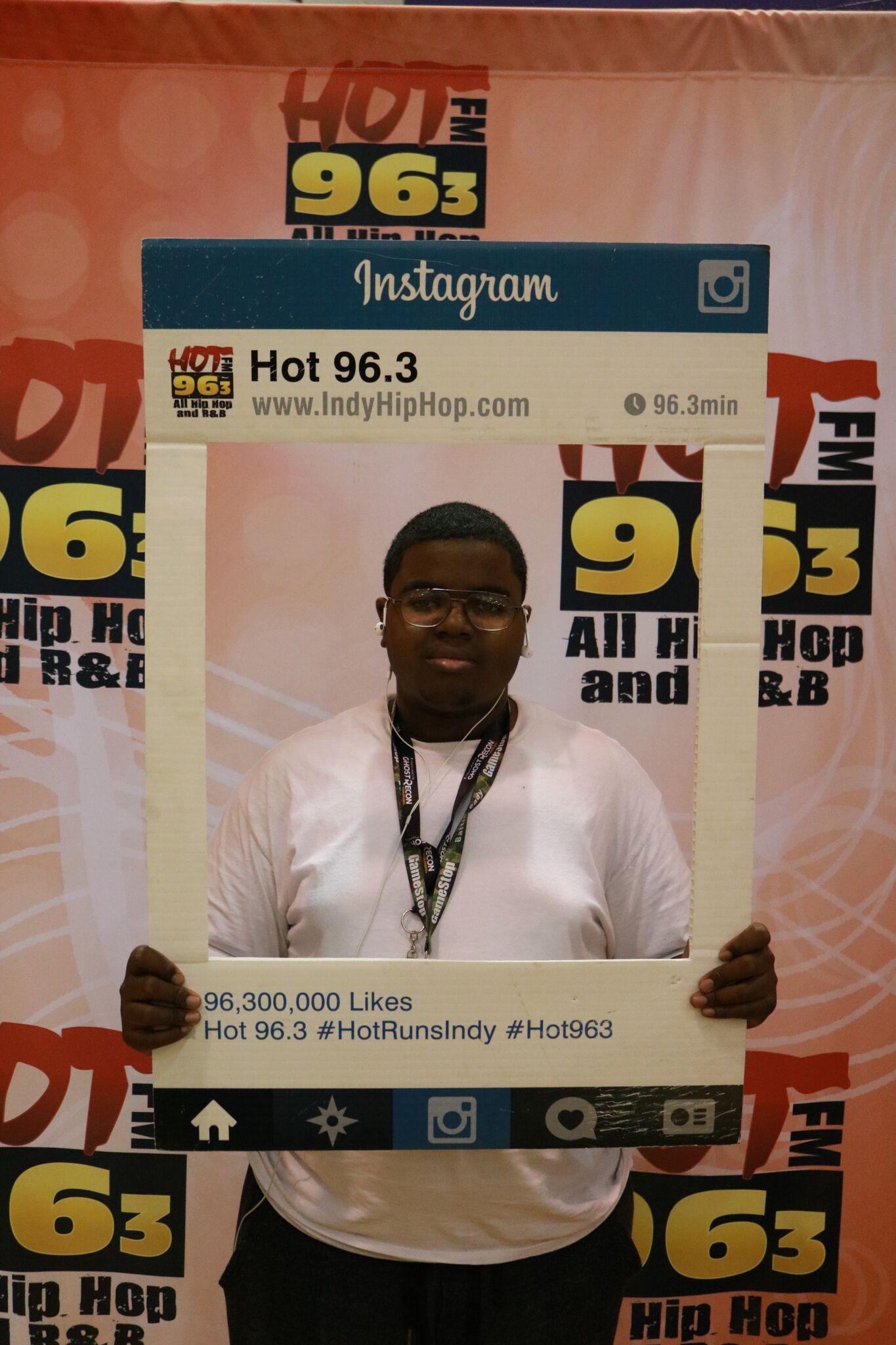 Hot 96.3 HS Basketball Takeover - Washington Game