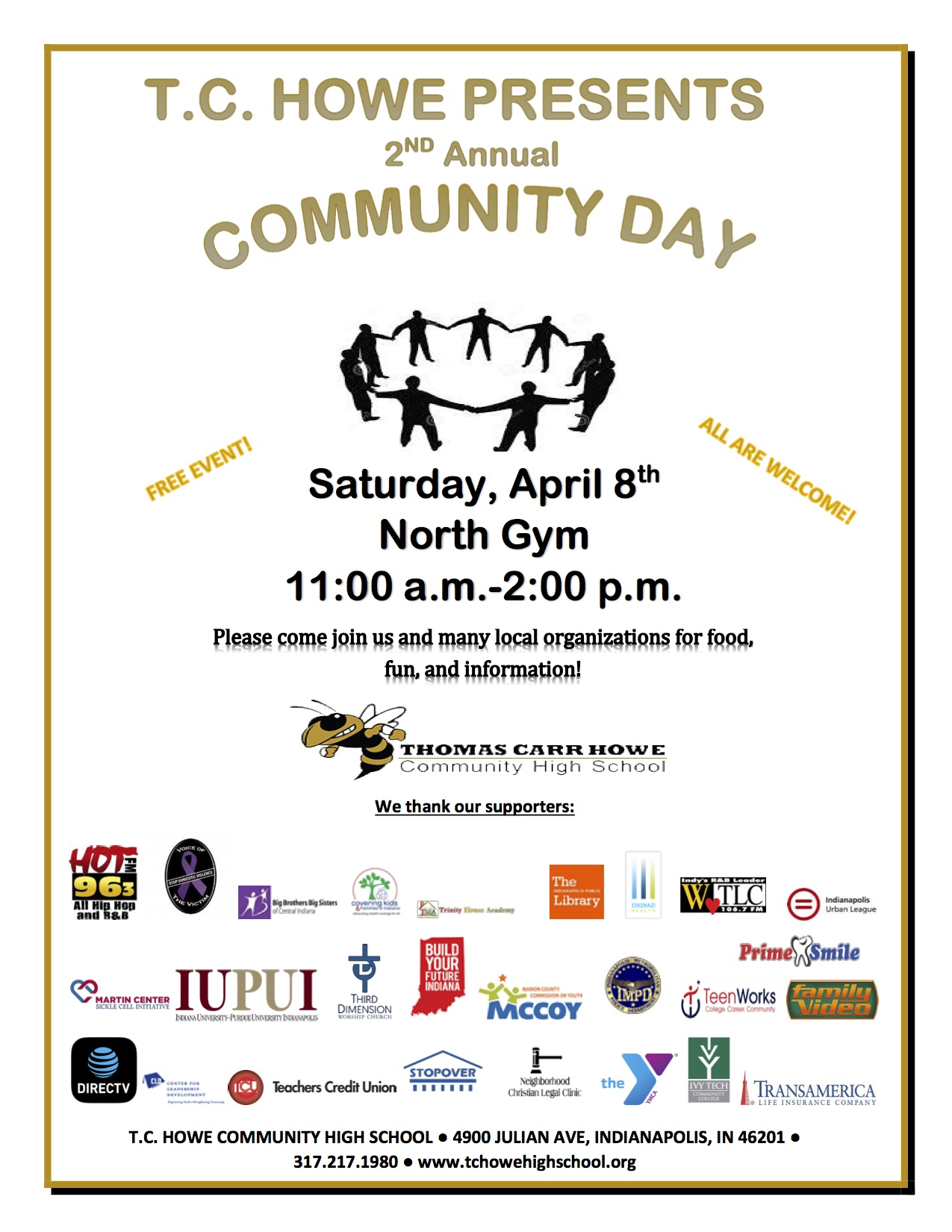 T.C. Howe Community Day Updated Flyer