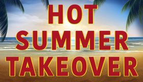 Hot Summer Takeover Graphic