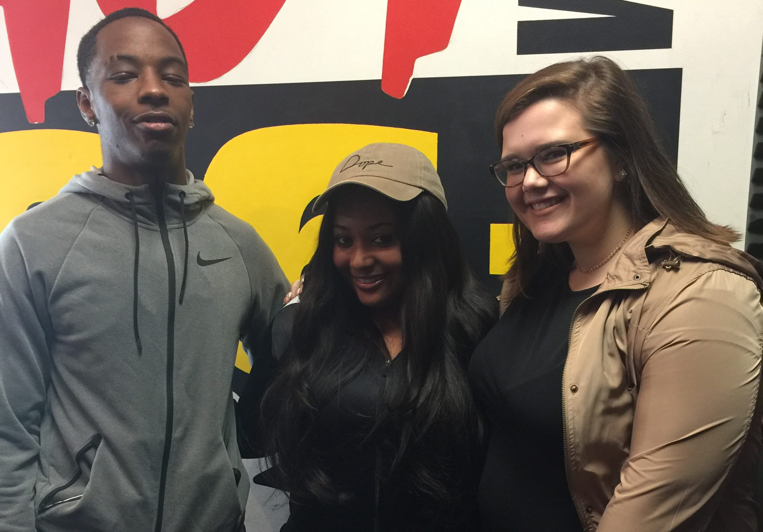 Pike HS Students with Dani D - Hot 96.3