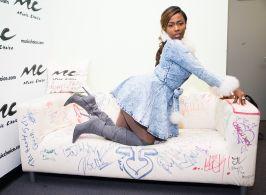 Hip-hop Artist Kash Doll Visits Music Choice