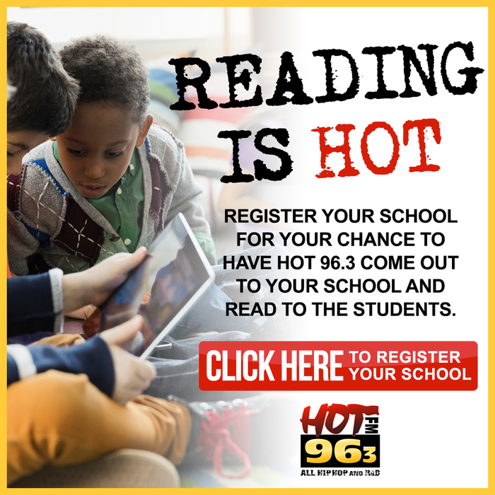 Reading Is Hot Flyer