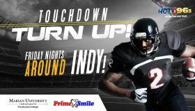 Touchdown Turn Up! Flyer