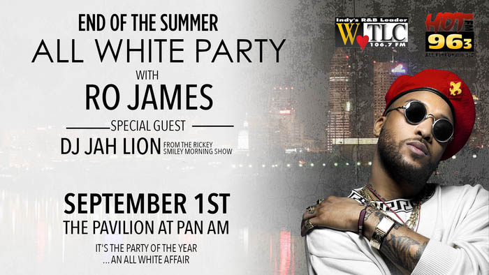 White Party With Ro James