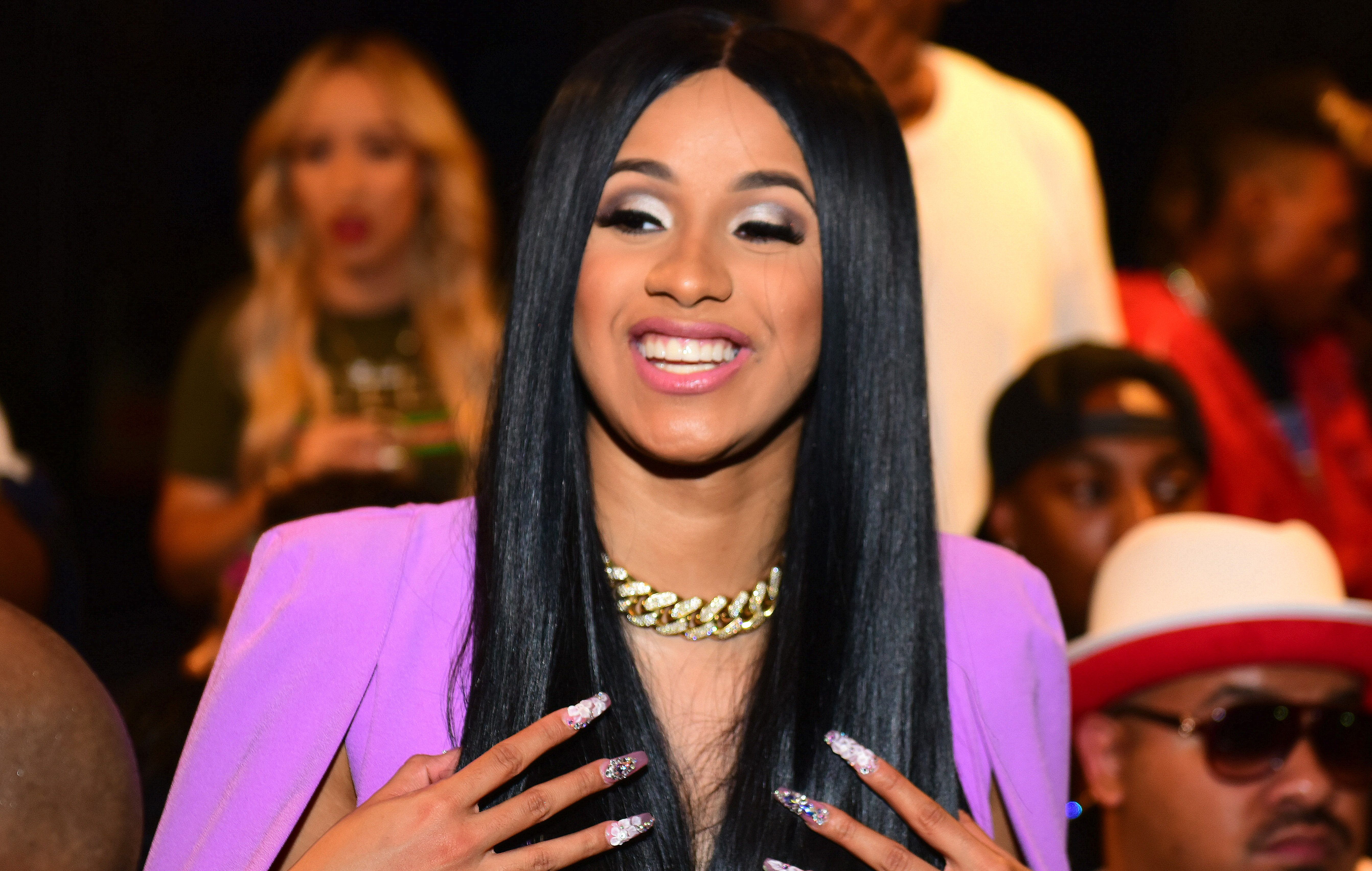 Cardi B Hosts Suite Lounge Day Party