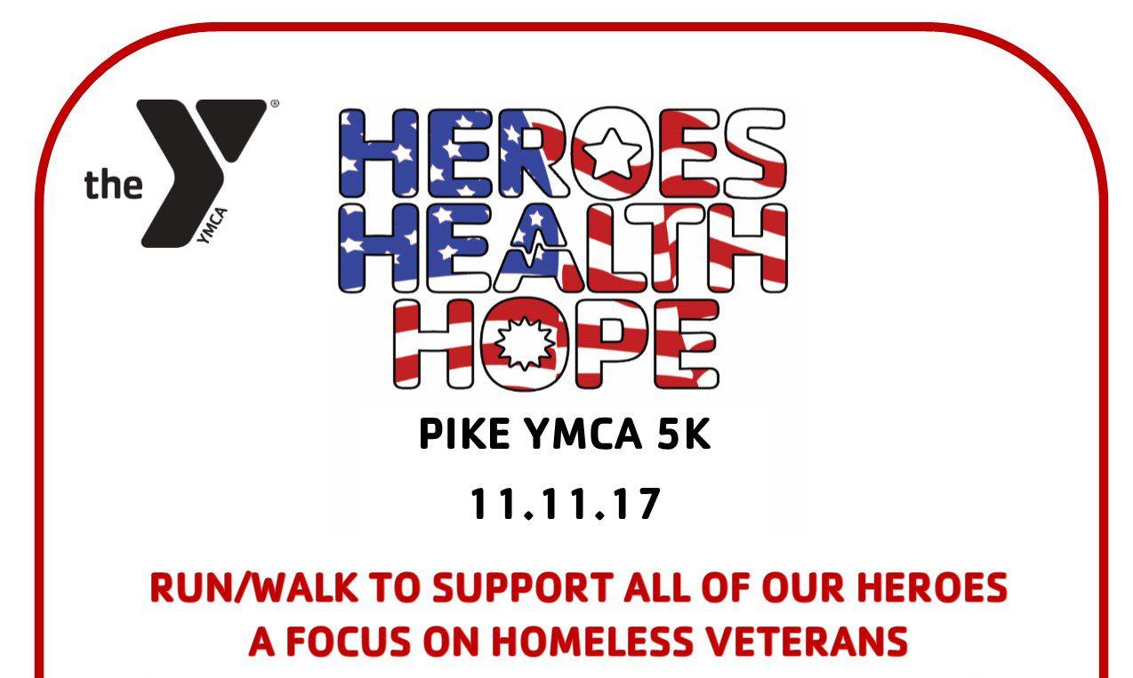 Pike YMCA Fall Family Festival & Heroes Health Hope 5K Race