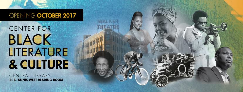 Center for Black Literature & Culture's Grand Opening Flyer