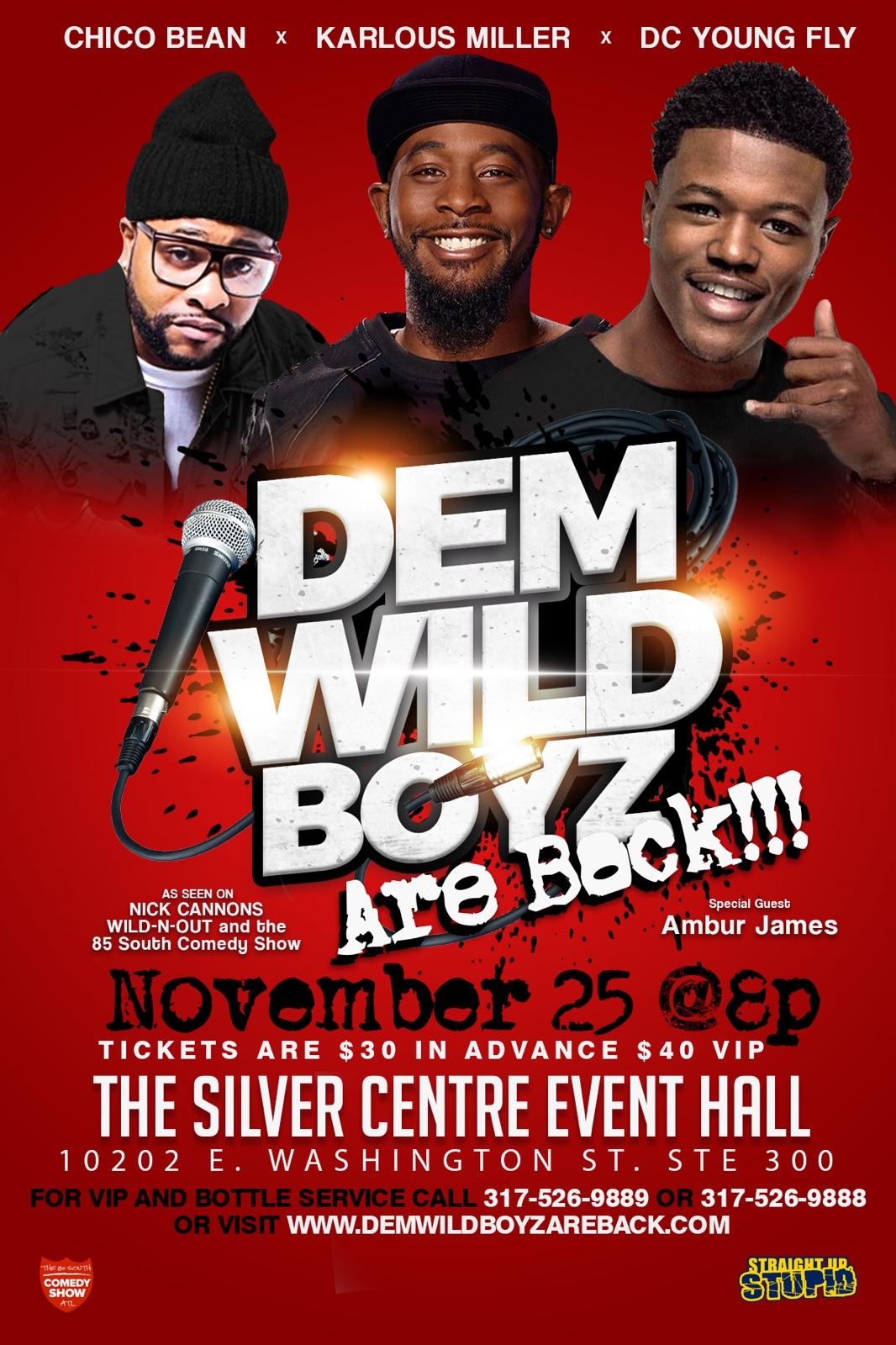 Dem Wild Boyz are Back