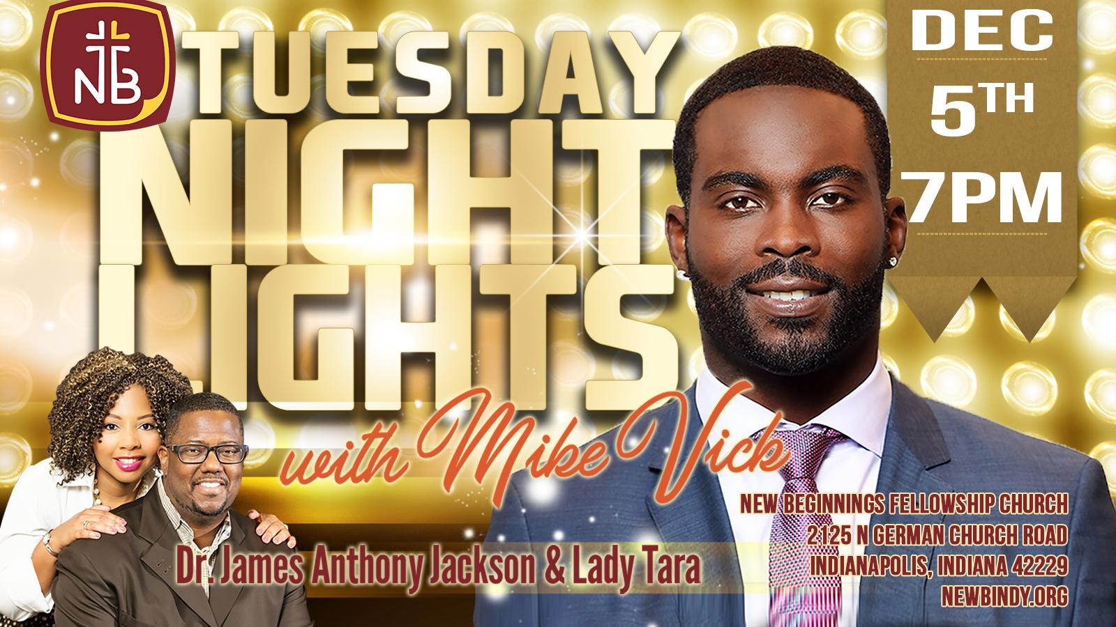 Thursday Night Lights w/ Mike Vick Flyer