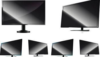 LCD TV - Illustration