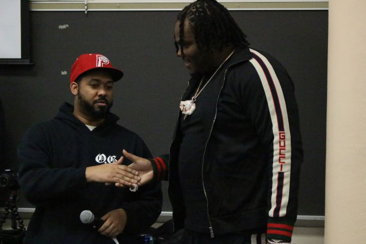 Tee Grizzley Visits Tech HS (Indy)
