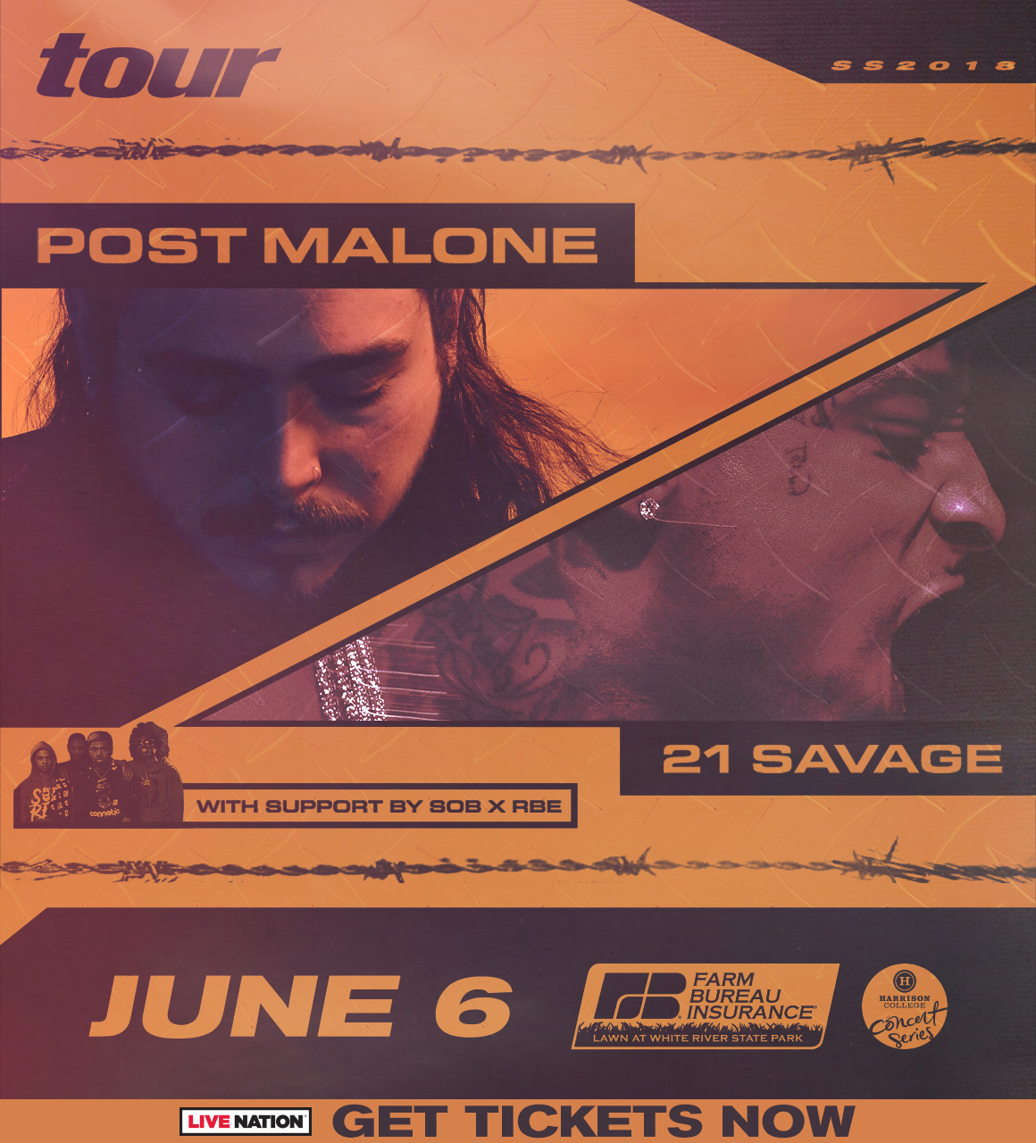 Post Malone Indy Flyer