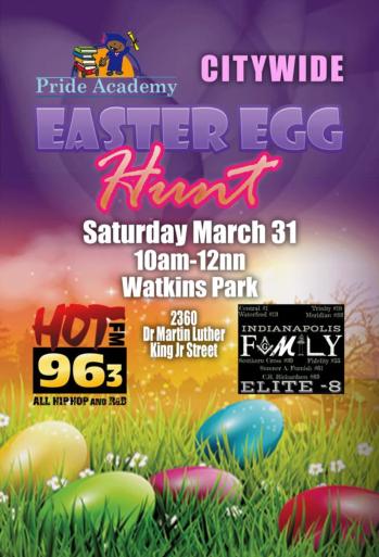 Pride Academy Citywide Easter Egg Hunt