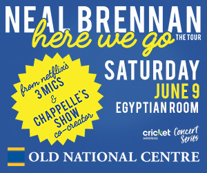 NEAL BRENNAN – Here We Go Tour Flyer