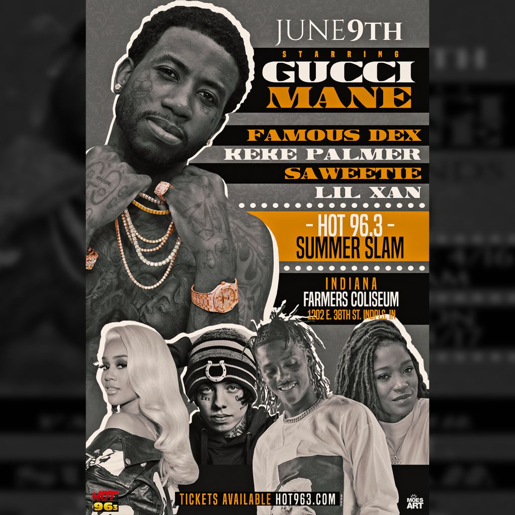 37f8441d239 Hot 96.3 Presents SUMMER SLAM with Gucci Mane   Friends
