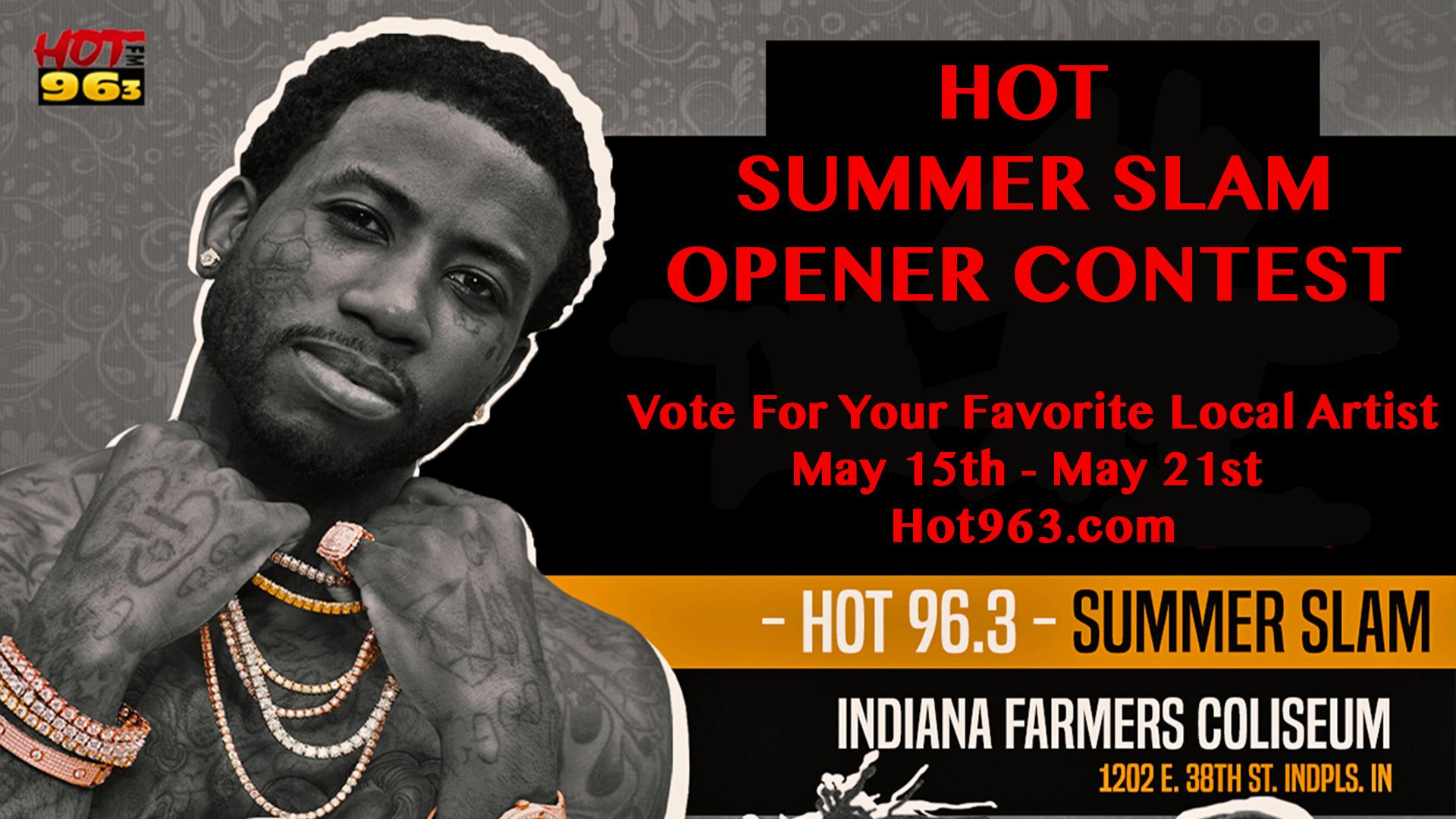 Hot Summer Slam Opener Graphic - Round 2