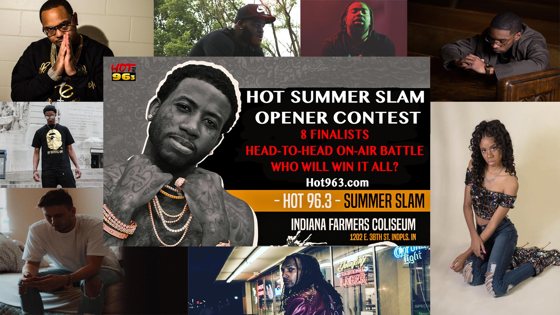 Hot Summer Slam Opener Contest Bracket 2018