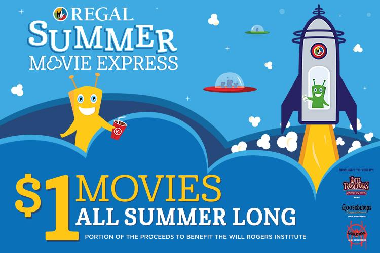 Summer Movie Express Flyers