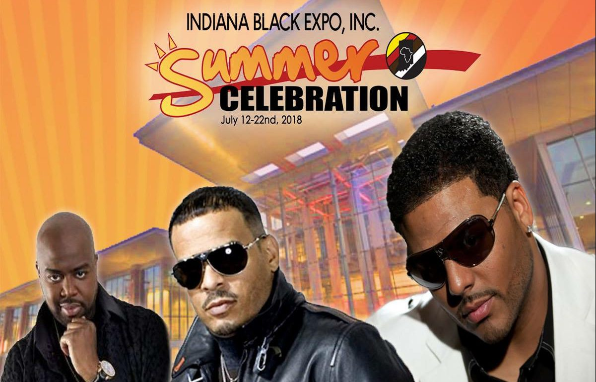 New Jack Swing Concert Flyer