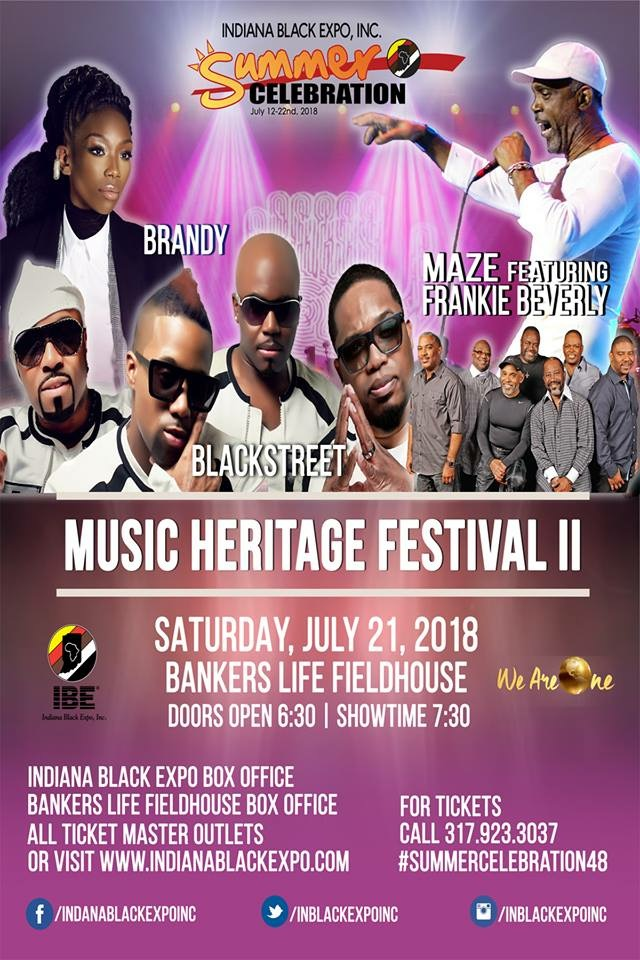IBE Music Heritage Festival II (Indoor Concert) Flyer