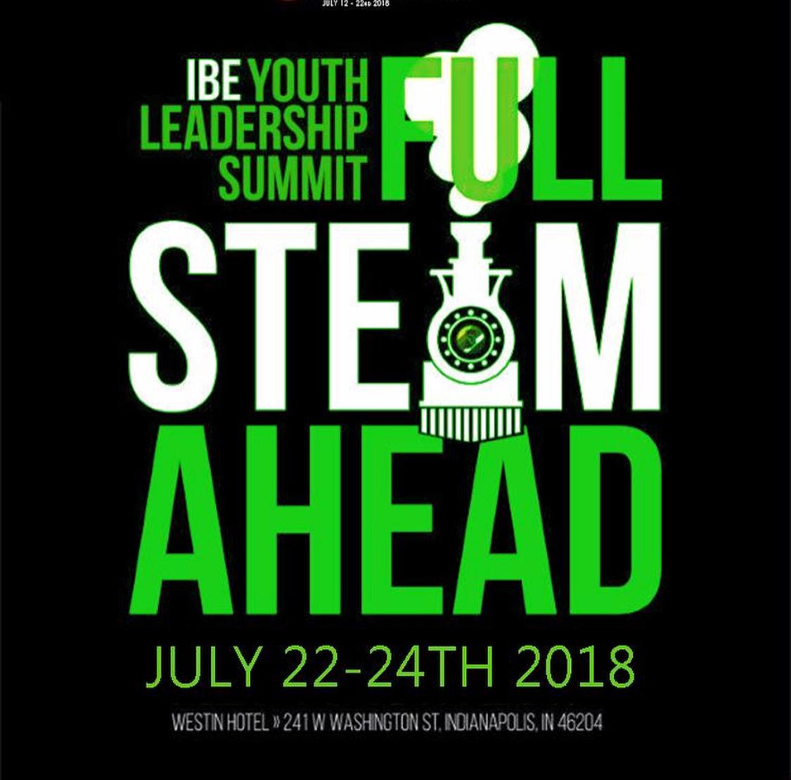 IBE Youth Leadership Summit Flyer