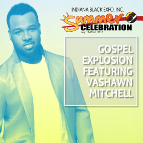 Gospel Explosionft Vashawn Mitchell Flyer