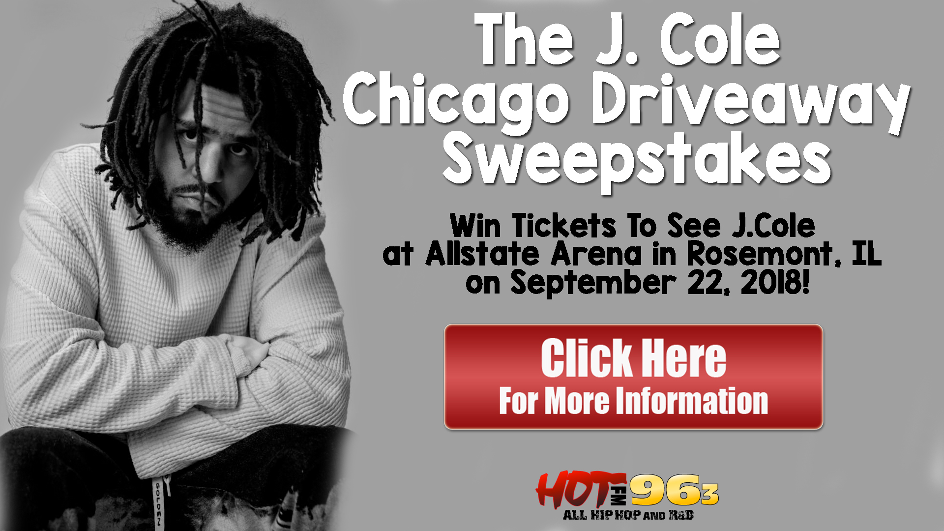 The J. Cole Chicago Driveaway Sweepstakes