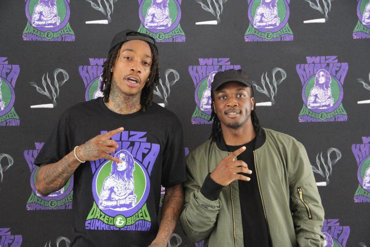 Wiz Khalifa's Exclusive Meet & Greet Photos - Hot 96.3